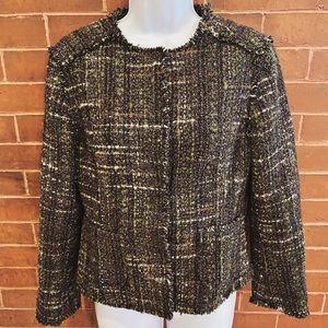 NEW Brooks Brothers Tweed Wool Boucle Blazer